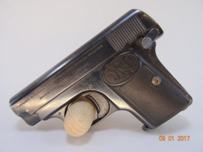 Pistole FN Browning 1905 Cal 6,35 mm
