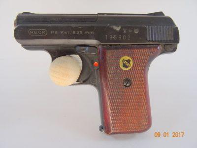 Pistole Reck Mod. P8 Cal 6,35 mm