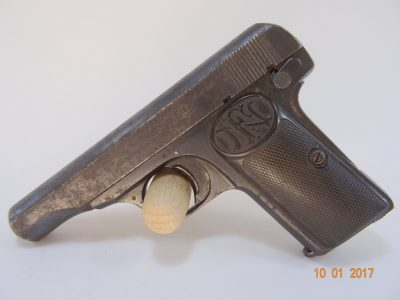 Pistole FN Browning Mod 1910 Cal 7,65 mm