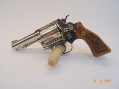 Revolver S&W Mod 36-1 Nickel Cal .38 Special