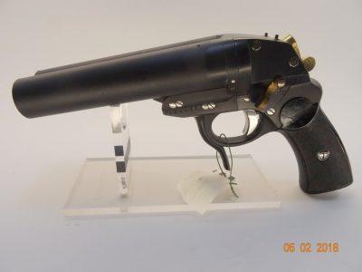 Signalpistole Krighoff Doppelläufig Cal 4
