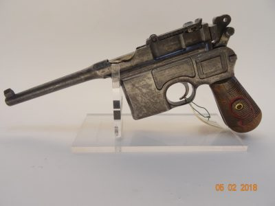 Pistole Mauser C 96 Rote 9 Cal.9 mm Luger